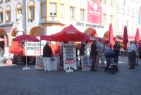 Infostand in Rosenheim