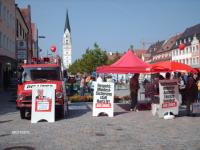 Infostand in Pfaffenhofen